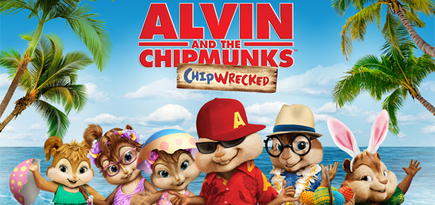 Alvin And The Chipmunks Chipwrecked 2011 Alvin And The Chipmunks Chipwrecked English Movie Movie Reviews Showtimes Nowrunning