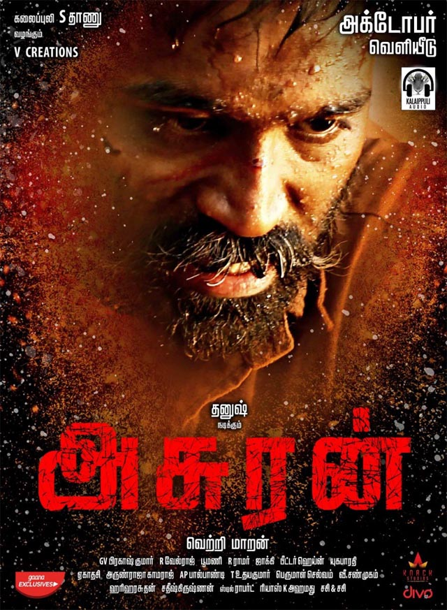Asuran (2019) Dual Audio Hindi ORG 450MB UNCUT HDRip 480p ESubs